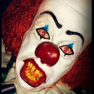 """From the movie """"IT"""": Pennywise the dancing clown!"""