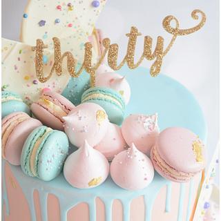 Pretty Drip Cake