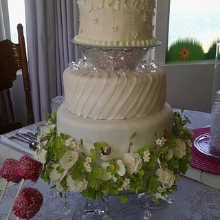 My first 3 tiered cake