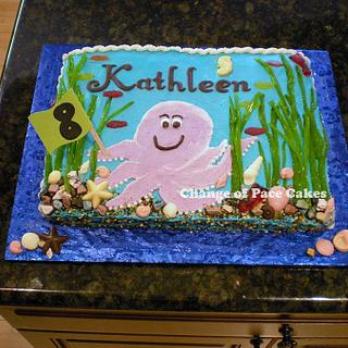 Kathleen's 8th Birthday Cake
