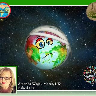 Acts of Green - future earth - Cake by Baked4U