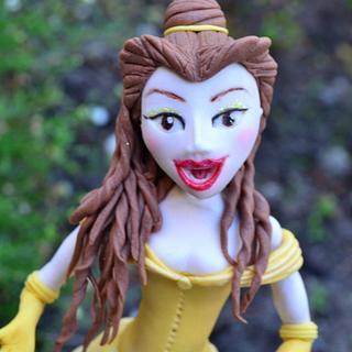 Princess Belle Cake Topper