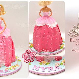 Myra's Doll Cake
