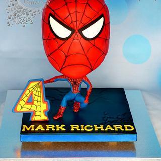 Gravity Cake Spiderman