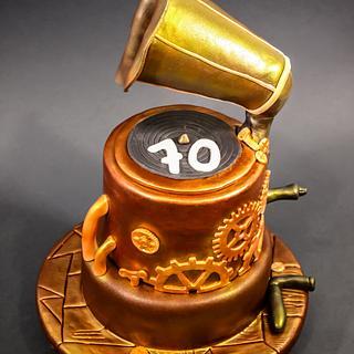 Steampunk Gramophone