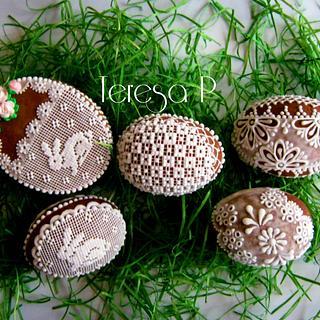 Wielkanocne pierniczki 3d