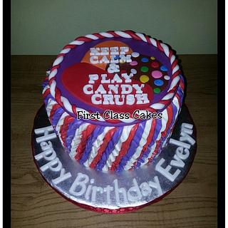 Candy crush cake - Cake by First Class Cakes
