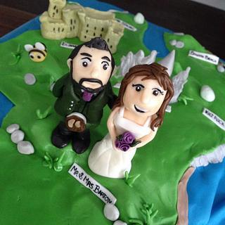 Isle of Skye wedding cake