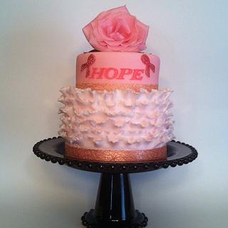 Couture Cakes by Rose goes PINK for Breast Cancer Awareness Month