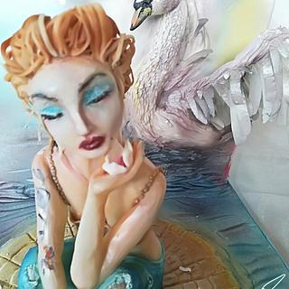 Spring Artistic Cake - Cake by EmyCakeDesign