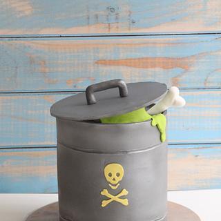Radioactive! - Cake by Tal Zohar