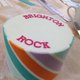 Brighton Rock Cake
