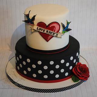Old school cake - Cake by torte trifft stil