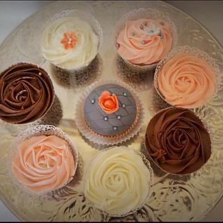 Wedding cupcakes  - Cake by Delight for your Palate by Suri