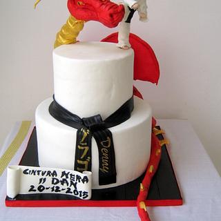 Karate Cake - Cake by Tiziana Inn
