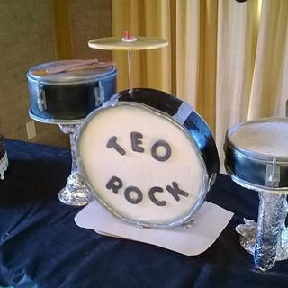 drums and rock