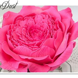 Bold Vintage Roses - Cake by Mary @ SugaDust