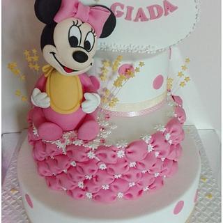 Baby Minnie cake  - Cake by Angela Natale