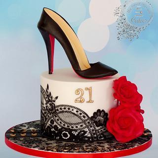 21st Birthday Cake - Cake by Beata Khoo