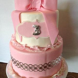 Girly Pink Cake