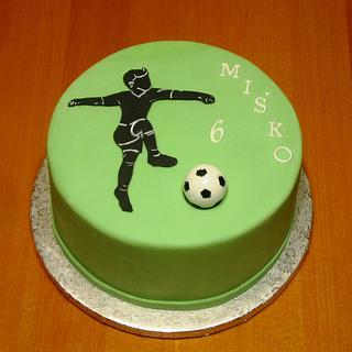 Footbal cake