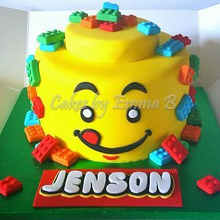 A Lego Birthday - Cake by CakesByEmmaB