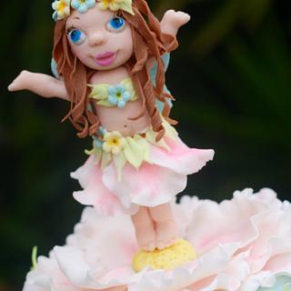 Thumbelina! - Cake by Joy Apollis