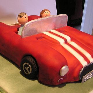AC Cobra cake
