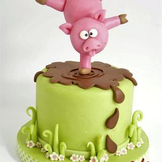 Piggy Cake  - Cake by ChocoCake