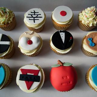 Bride & Groom Story Cupcakes.... - Cake by Dollybird Bakes