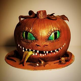Spooky Snake Pumpkin