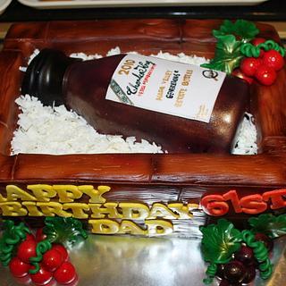 Charles Krug Wine Cake