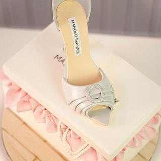 Manolo Blahnik shoes CPC-Century of Fashion Collaboration
