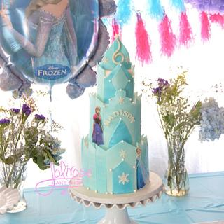 Another Frozen cake. :)