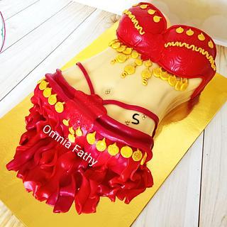Bellydancer cake