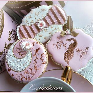 Peacock cookies 💖