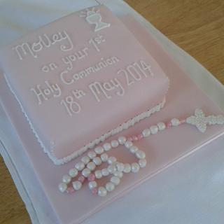 First Holy Communion Cake - Cake by Kathryn Clarke