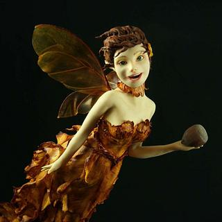 Autumn Fairy  - Cake by Jennifer Holst • Sugar, Cake & Chocolate •