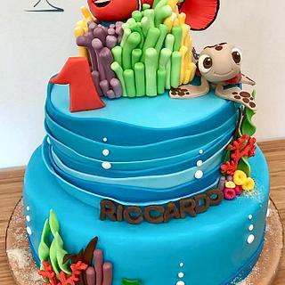 Nemo's cake