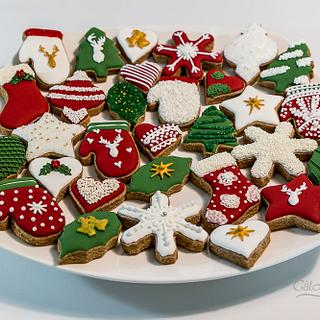 Christmas Cookies - Cake by Gâteaux of Love