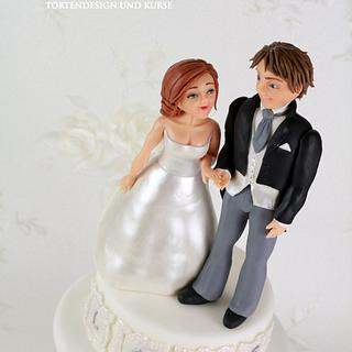 Bride and Groom Topper