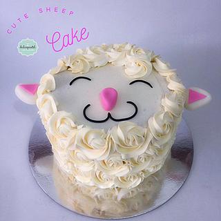 Torta Oveja Medellín - Cake by Dulcepastel.com