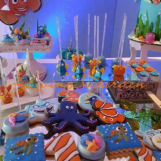 Finding Nemo - Cake by Claudia Smichowski