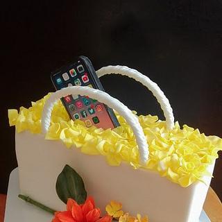 Iphone Cake - Cake by babkaKatka