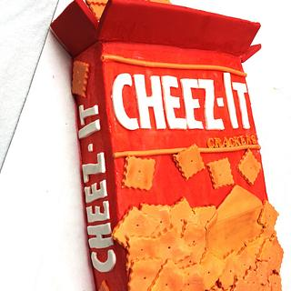 Cheez-It cake  - Cake by Live Love n Bake