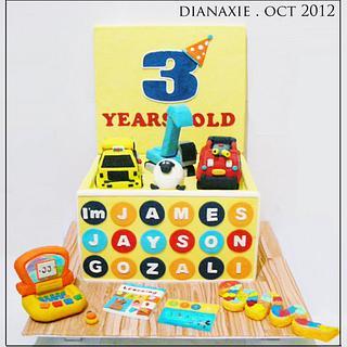 Toy Box  - Cake by Diana