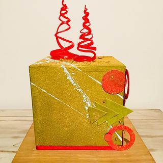Cubo dorado - Cake by Mariano Camba