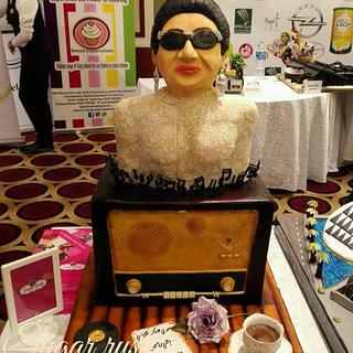 Oum kolthom cake