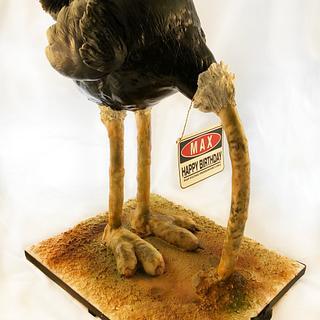 Birthday Ostrich