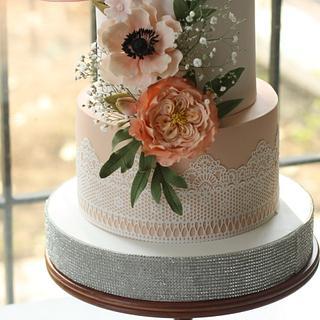 Sugar Flower Bouquet Cake - Cake by Sihirli Pastane